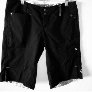 Rare lululemon twill shorts